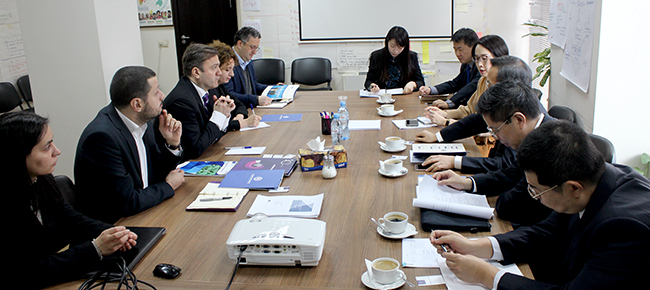 Delegation from China
